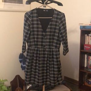 Zara (size M) button down dress